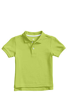 J Khaki Short Sleeve Polo Toddler Boy