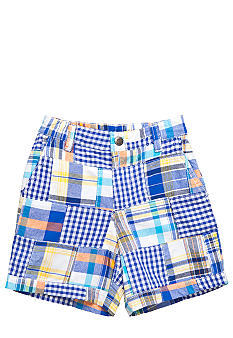 J Khaki Patchwork Shorts Toddler Boy