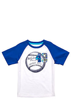 J Khaki Raglan Novelty Crew Toddler Boys