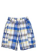 J Khaki™ Plaid Cargo Shorts Toddler Boys