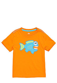 J Khaki Novelty Crew Tee Toddler Boy
