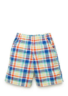J Khaki™ Plaid Shorts Toddler Boys