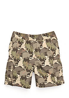 J Khaki™ Dinosaur Camo Cargo Short Toddler Boys