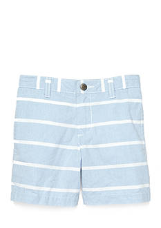 J Khaki™ Stripe Chambray Short Toddler Boys