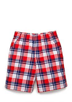 J Khaki™ Plaid Shorts Toddler Boys