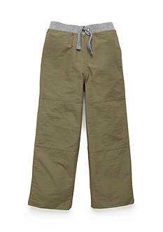 J. Khaki Unlined Microfiber Pants Toddler Boys