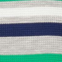 Mix and Match Kids Clothes: Boys: Green/Gray J Khaki™ Long Sleeve Striped Thermal Shirt Toddler Boys