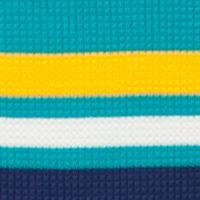 Mix and Match Kids Clothes: Boys: Turquiose/Yellow J Khaki™ Long Sleeve Striped Thermal Shirt Toddler Boys