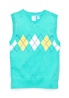J Khaki™ Argyle Sweater Vest Toddler Boys