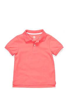 J Khaki™ Short Sleeve Solid Polo Toddler Boys