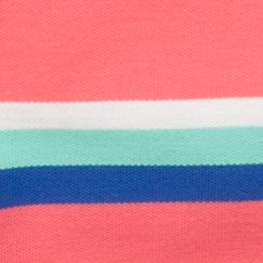 Mix and Match Kids Clothes: Toddler Boys: Coral/Aqua J Khaki™ Short Sleeve Striped Polo Toddler Boys
