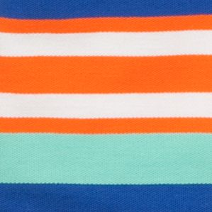 Mix and Match Kids Clothes: Toddler Boys: Orange/Blue J Khaki™ Short Sleeve Striped Polo Toddler Boys