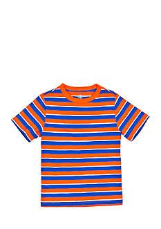 J Khaki™ Short Sleeve Stripe Slub Tee Toddler Boys
