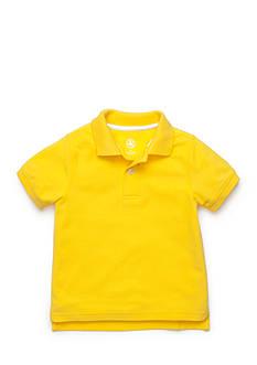 J Khaki™ Short Sleeve Polo Toddler Boys