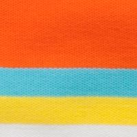 Mix and Match Kids Clothes: Toddler Boys: Orange/Aqua J Khaki™ Short Sleeve Stripe Polo Toddler Boys