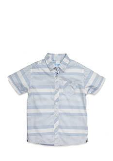 J Khaki™ Stripe Chambray Shirt Toddler Boys