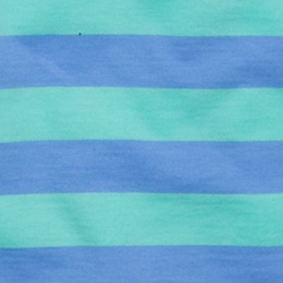 Mix and Match Kids Clothes: Toddler Boys: Aqua/Blue J Khaki™ Short Sleeve Stripe Jersey Polo Toddler Boys