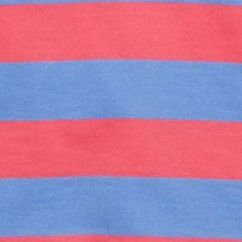 Mix and Match Kids Clothes: Toddler Boys: Coral/Blue J Khaki™ Short Sleeve Stripe Jersey Polo Toddler Boys