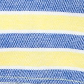 Mix and Match Kids Clothes: Toddler Boys: Blue/Yellow J Khaki™ Stripe Oxford Polo Shirt Toddler Boys
