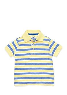 J Khaki™ Stripe Oxford Polo Shirt Toddler Boys