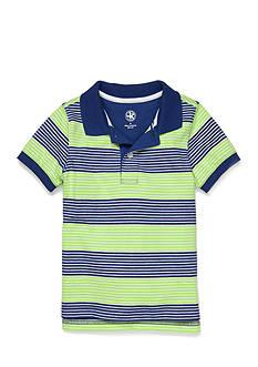 J Khaki™ Short Sleeve Jersey Polo Toddler Boys