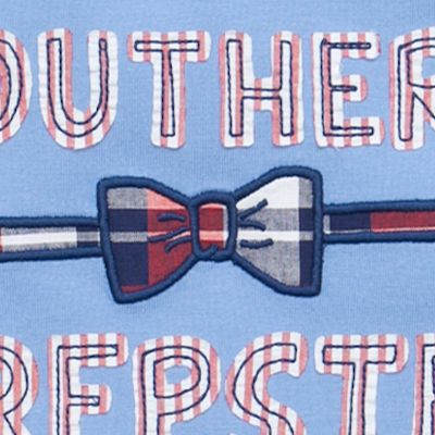 Red, White & Cute: Boys: Blue Southern J Khaki™ Novelty Tee Toddler Boys