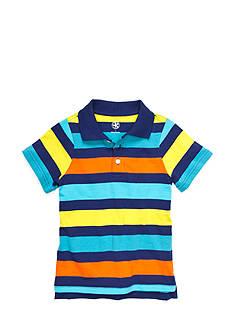 J Khaki™ Stripe Polo Toddler Boys