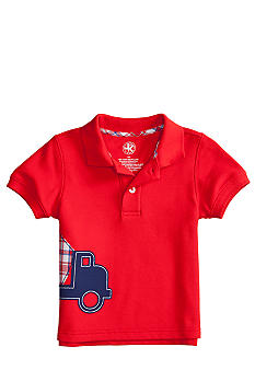 J Khaki Applique Novelty Polo