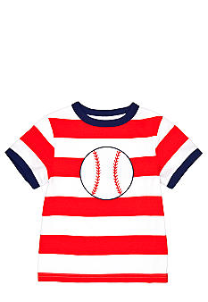 J Khaki Novelty Stripe Tee