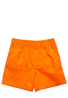 J Khaki Solid Pork Chop Shorts