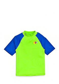 J Khaki™ Short Sleeve Novelty Rashguard Toddler Boys