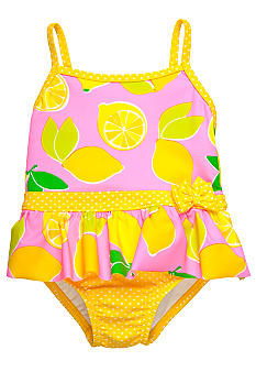 Lemon One Piece Swim Suit Set