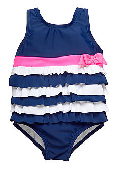 Carter's 1-Piece Ruffle Bow Swimsuit