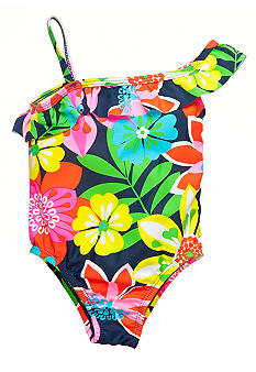 Carter's 1-Piece Tropical Print Swimsuit