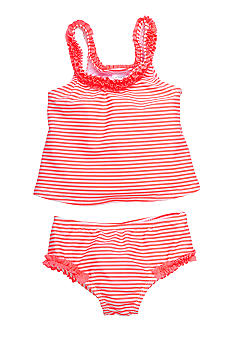 Carter's Neon Stripe 2-Piece Swim Suit Set