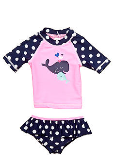 Carter's 2-Piece Whale Rashguard Swimsuit