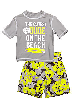 2-Piece Cutest Dude Swim Set