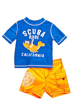 2-Piece Scuba Dude Swim Set
