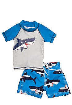 Carter's 2-Piece Shark Rashguard Swimsuit