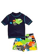 Carter's® 2-Piece Fish Rashguard Swimsuit