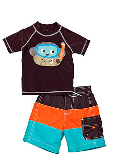 Carter's 2-Piece Monkey Swim Set Toddler Boys
