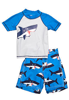 Carter's 2-Piece Shark Swim Set Toddler Boys