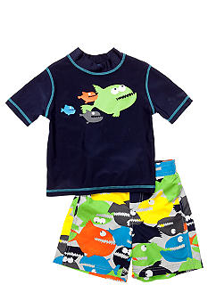 Carter's Piranha 2-Piece Swim Set Toddler Boys