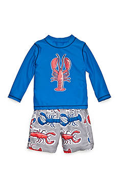 Carter's 2-Piece Lobster Swim Set Toddler Boys