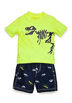 Carter's 2-Piece Dino Swim Set Toddler Boys