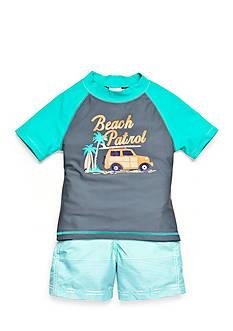 Carter's 2-Piece 'Beach Patrol' Swim Set Toddler Boys