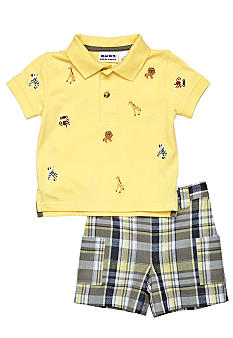 Blueberi Boulevard 2-Piece Animal Schiffly Set