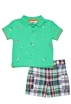 Blueberi Boulevard 2-Piece Golf Schiffly Polo Set