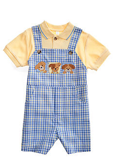 Good Lad 2-Piece Polo Shortall Set