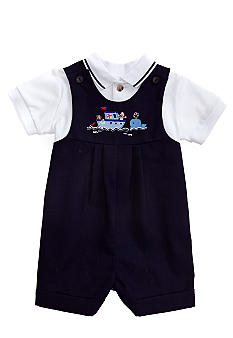 Good Lad 2-Piece Pleated Shortall Set